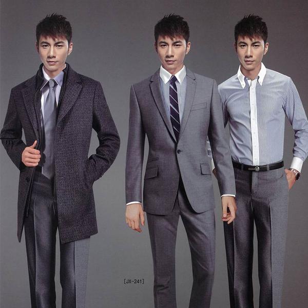 男士韩版修身西装