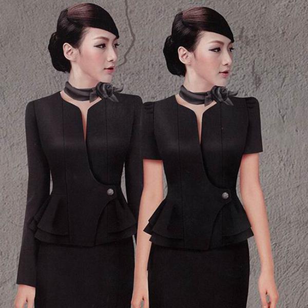 韩版女式休闲职业装