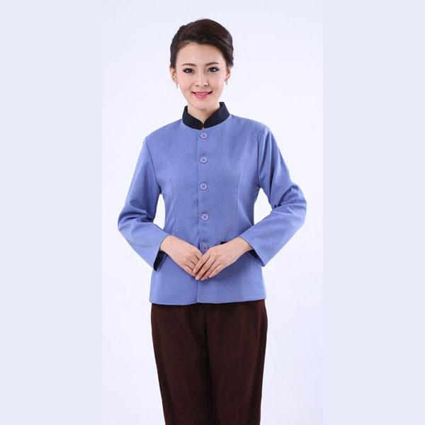 物业保洁服-蓝