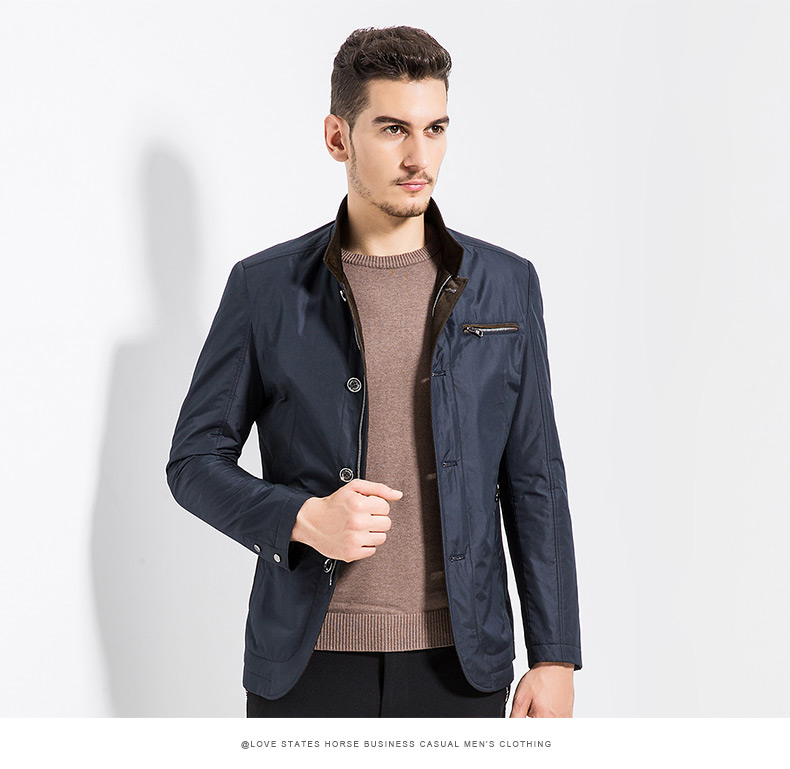 时尚商务夹克