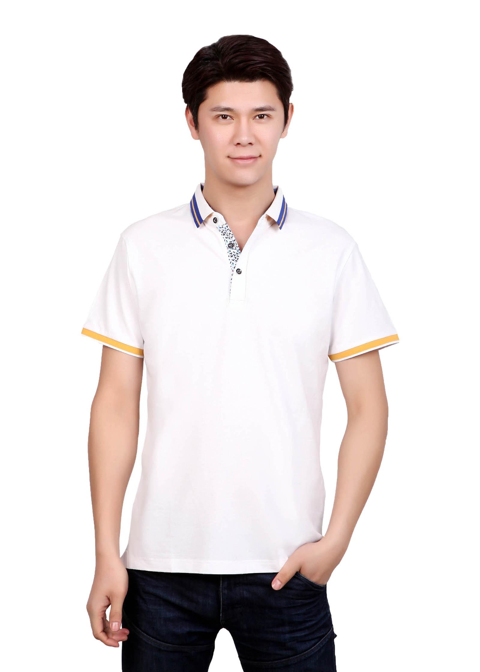 纤维丝光T恤