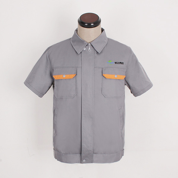 信达泰利夏季工服款式图