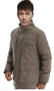 冬季纯棉高领工作服