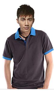 立领工装T恤-纯棉