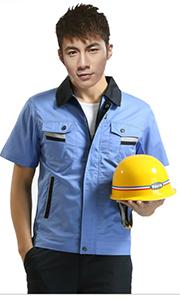 夏季工程工作服