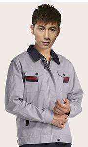 涤棉长袖工作服