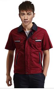 时尚工厂工作服