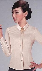 女士韩版修身衬衫