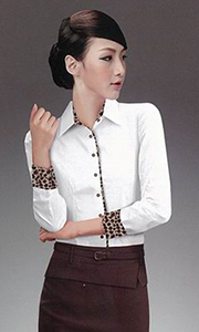 商务管理女衬衫