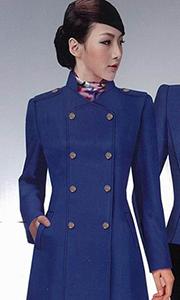 女士韩版修身西装风衣
