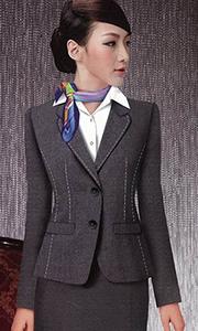 时尚修身女西服