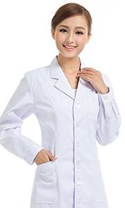 白色医护工作服