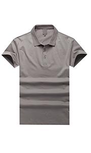 时尚灰色T恤