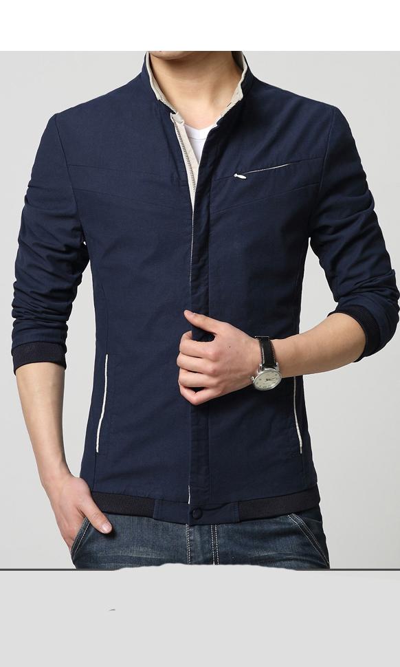 时尚修身夹克