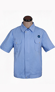 炼胶化学厂夏季工服款式图