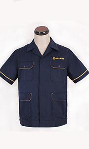 金州大厦物业夏季工服款式图
