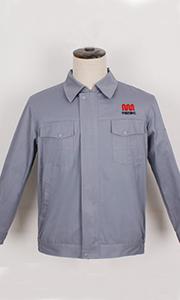 中国自动化秋季工服款式图
