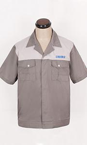 中财物业夏季工服款式图