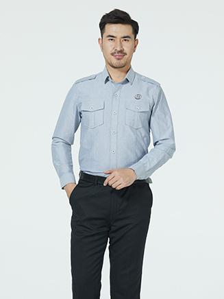 中铁务衬衫